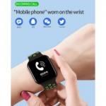 ANDOWL Q-A65 Ρολόι Smartband BLACK