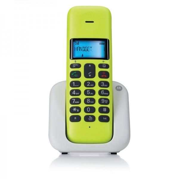 Motorola T301 Lime Lemon (Ελληνικό Μενού) Ασύρματο τηλέφωνο με ανοιχτή ακρόαση